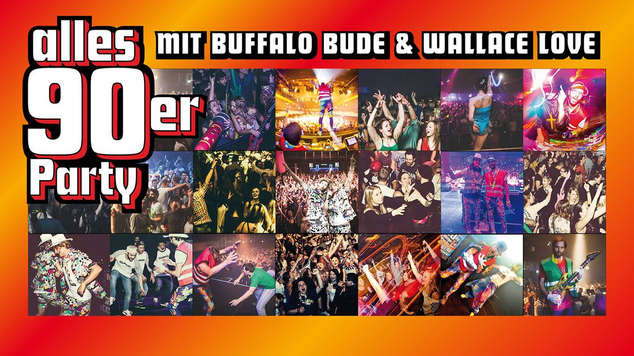 90er Party mit Buffalo Budde und Wallace Love